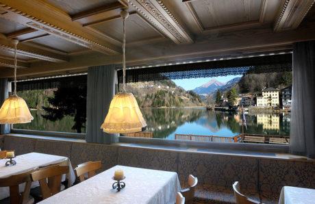 Sporthotel Europa Alleghe vista ristorante